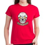 Rest in Peace Skull Tattoo Women's Dark T-Shirt
