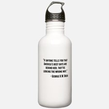 George H.W. Bush Quote Water Bottle