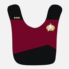 Star Trek: TNG Red Commander Bib