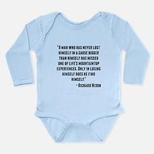 Richard Nixon Quote Body Suit