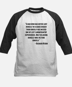 Richard Nixon Quote Baseball Jersey