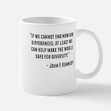 John F. Kennedy Quote Mugs