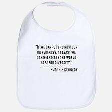 John F. Kennedy Quote Bib