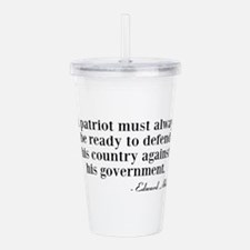 A Patriot Acrylic Double-wall Tumbler