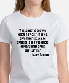 Harry Truman Quote T-Shirt