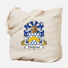 Chesneau Family Crest Tote Bag