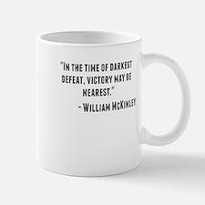 William McKinley Quote Mugs