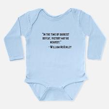 William McKinley Quote Body Suit