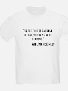 William McKinley Quote T-Shirt