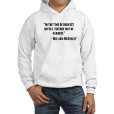 William McKinley Quote Hoodie