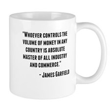 James Garfield Quote Mugs