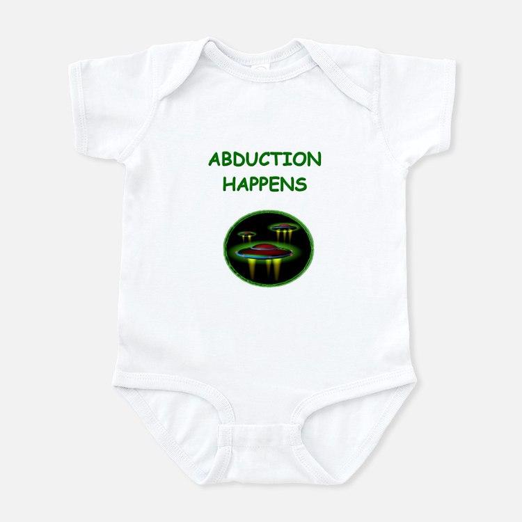 abduction t-shirts Infant Bodysuit