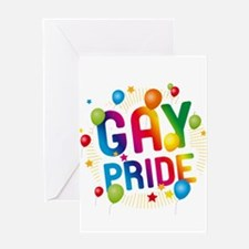 Gay Pride Celebration Greeting Card