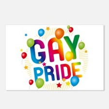 Gay Pride Celebration Postcards (Package of 8)