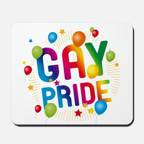 Gay Pride Celebration Mousepad