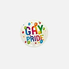 Gay Pride Celebration Mini Button (10 pack)
