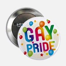 """Gay Pride Celebration 2.25"""" Button (10 pack)"""