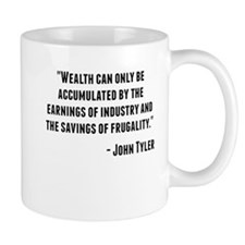 John Tyler Quote Mugs