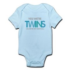 Yes Were Twins Fraternal Body Suit
