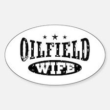 Oilfield Wife Sticker (Oval)