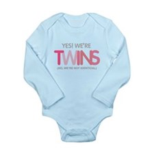 yes we're tiwns fraternal Body Suit