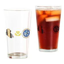 OIF BM NIMITZ Drinking Glass