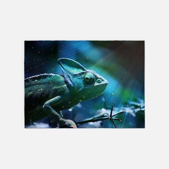 Chameleon 5'x7'Area Rug