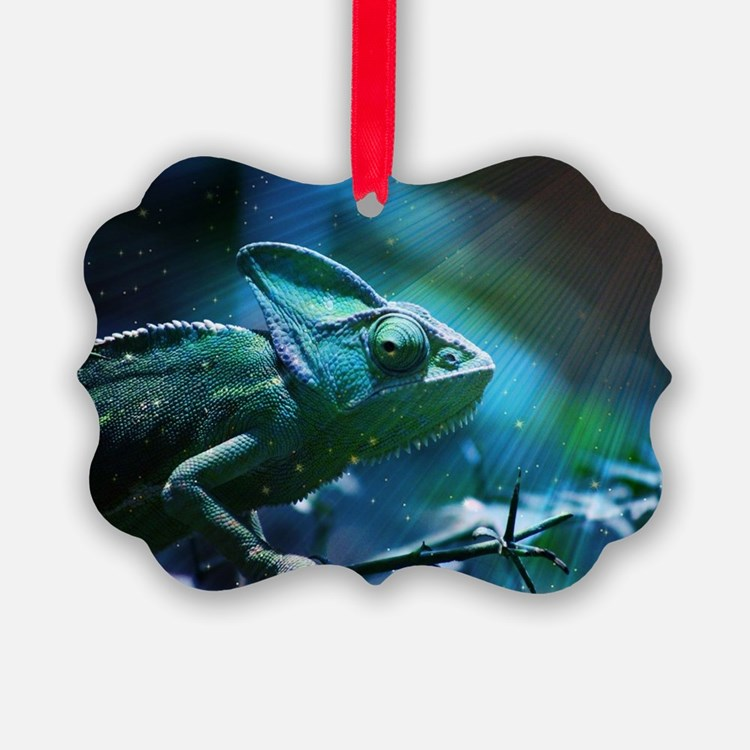 Chameleon Ornament