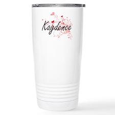 Kaydence Artistic Name Travel Mug