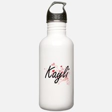 Kayli Artistic Name De Water Bottle