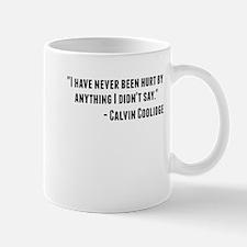 Calvin Coolidge Quote Mugs