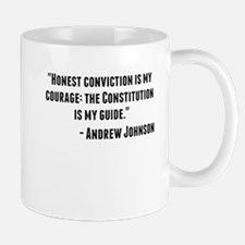 Andrew Johnson Quote Mugs