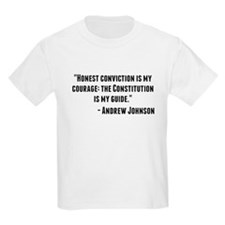 Andrew Johnson Quote T-Shirt