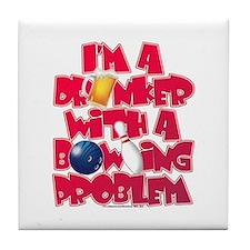 Bowling Problem Tile Coaster