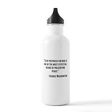 George Washington Quote Water Bottle