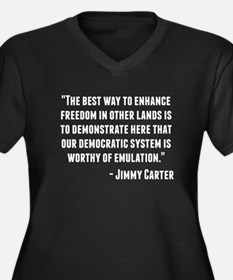 Jimmy Carter Quote Plus Size T-Shirt