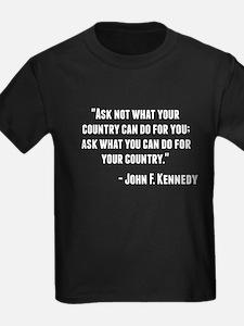 John F. Kennedy Quote T-Shirt