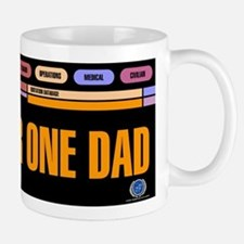 Number One Dad Small Small Mug