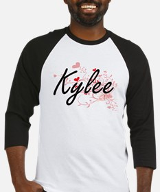 Kylee Artistic Name Design with He Baseball Jersey