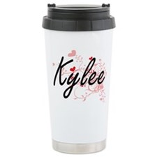 Kylee Artistic Name Des Travel Coffee Mug
