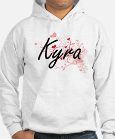 Kyra Artistic Name Design with H Hoodie