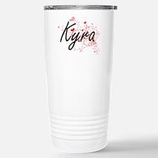 Kyra Artistic Name Desi Stainless Steel Travel Mug