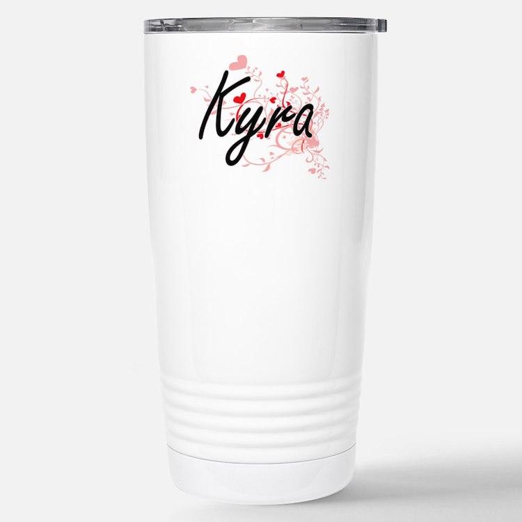 Kyra Artistic Name Desi Travel Mug
