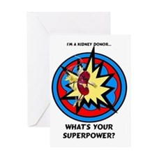 Super Kidney Donor Greeting Card