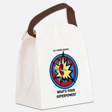 Super Kidney Donor Canvas Lunch Bag
