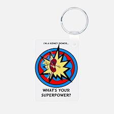 Super Kidney Donor Keychains