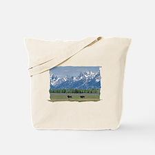 Teton Buffalo Tote Bag
