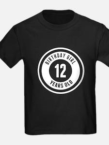 Birthday Girl 12 Years Old T-Shirt