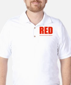 Color Red T-Shirt