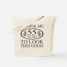 Funny 55th Birthday Tote Bag